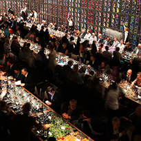 Food and wine elite hosted at 'greatest ever' dinner party