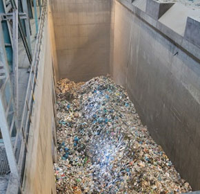 Waste plant uses process control system to prevent fire hazard