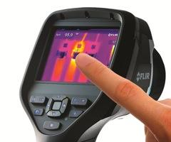 """The FLIR's (thermal imaging camera) has suitable resolution and thermal range to detect even very minor temperature differences."""