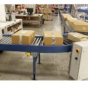 Benefits of low pressure accumulating roller conveyors