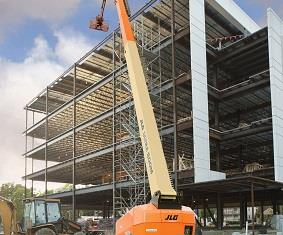 Delivering a working height of 58m, JLG's 1850SJ Ultra Boom is arguably the World's Tallest Self-Propelled Telescopic Boom Lift.