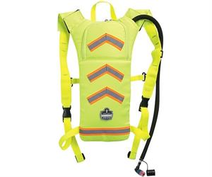 Ergodyne Hydration packs (above) can be worn on a worker's back above or under protective suits and clothing. (Supplier: Pryme Australia)