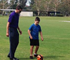A robotic soccer ball is helping people with vision impairment improve their game participation. (Image: UQ)