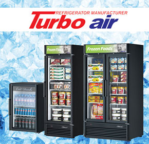 Don't be left out in the cold: shop for turbo air refrigeration