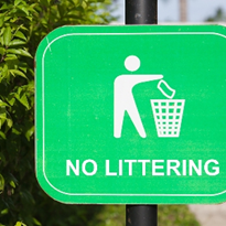 New fines in place to stop littering from vehicles