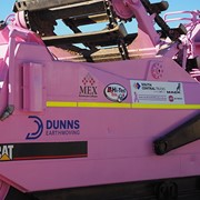 MEX Supports Pink Scraper for Breast Cancer