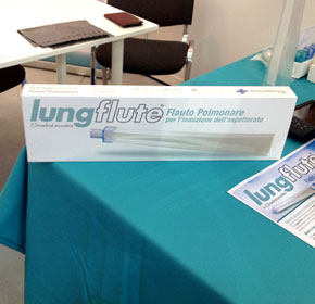 Lung Flute improves symptoms and health status in COPD