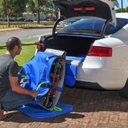 "Wheelchair Boot Slider - As seen on ABC ""The New Inventors"""