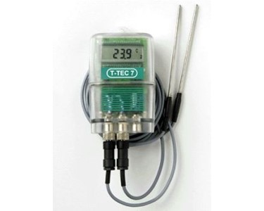 Temperature Datalogger with Two Thermistor Sensors | T-TEC F