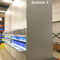 SOLD - Used Storage Systems | Hänel Rotomat