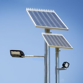 LED Solar Pole Light | UltraLux