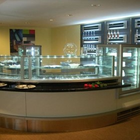 Refrigerated Bar Display Cabinet | La Rossa