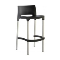 Bar Stool with Back | Gio