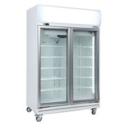Commercial Upright Glass Door Fridge/Chiller | GD1000LF 976L