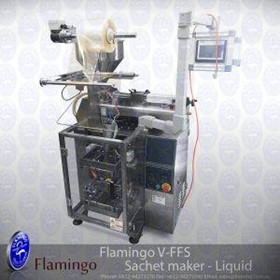 Flamingo Vertical Form Fill Sachet Maker - Liquid | EFFFS-L-2800