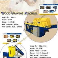 CE Certificate Wood Shaving Machine - EWS-37