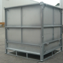 Used and Second Hand Folding Metal Intermediate Bulk Containers