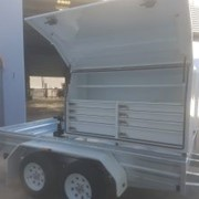 Alltrades | Tandem Box Trailer | Custom Built - 10×6