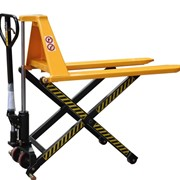 1T High Lift Pallet Truck Lift Height 800mm Fork width 680mm