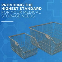 Storage Solutions | SURGIBIN® | Wire Baskets | New Updated Design