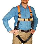 General Purpose Safety Harness with 1.8M  Lanyard