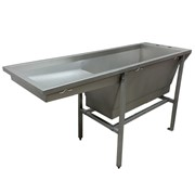 Veterinary Wash and Treatment Table