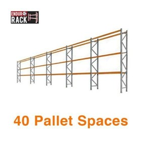 Pallet Racking | 40 Pallet Spaces