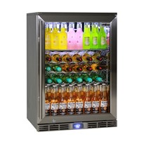 Rhino Glass Door 129L Alfresco Bar Fridge | GSP1H-840-SS