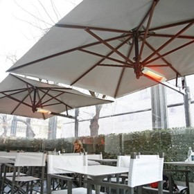 Umbrella Heater for Indoor / Outdoor Venues | Star Progetti Heliosa 11