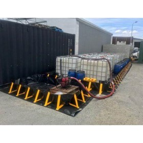 Portable Spill Containment Bunds