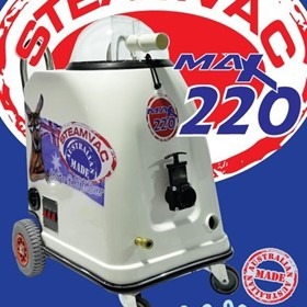 STEAMVAC | Steam Cleaner | MAX 220