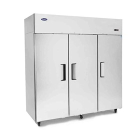 Top Mount 3 Solid Door Upright Freezer - MBF8003