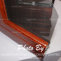 Steel Mesh Security Screens for Windows and Doors
