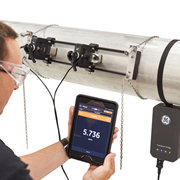 Portable Ultrasonic Flow Meter for Liquids | GE TransPort PT900