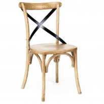 Timber Chair | Cross Back