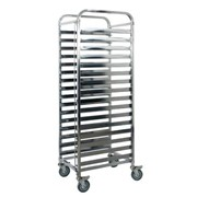 Mobile Gastronorm Trolley 32 Tray | KSS