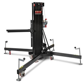 8m/350kg Front Load Towerlift – Black