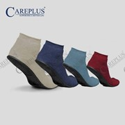CarePlus® Terrycloth Medical Rubber Soled Non-Slip Slippers (395)
