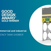 Enware's tank shower wins gold at the 2018 Good Design Awards®
