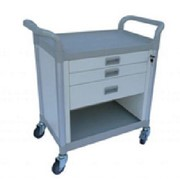 Modular Utility Trolley with 3 Wide Drawers