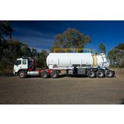 Vacuum Trucks | TipperVac Tipping Triaxle Trailer
