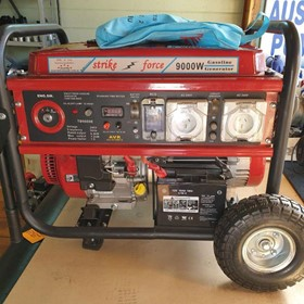 Strike Force SF9000E Petrol Generator 6.8KVA Continuous