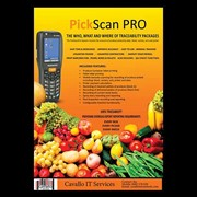 Mobile Barcode Scanning Software for Agriculture | PickScan Pro