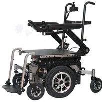 Centro Vertical Lift Mid-Wheel Drive Power Wheelchair