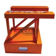 Bin Compactor Forklift Attachment
