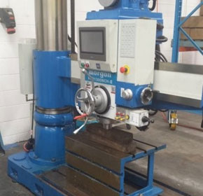 2014 Ajax Morgon Touch Screen Automatic Radial Drilling Machine