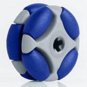 35mm Rotacaster Multi-Directional Wheel with TPE Rollers