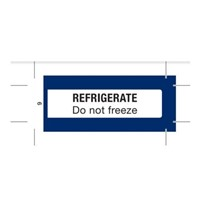 Pharmacy Labels | Refrigerate Do not freeze