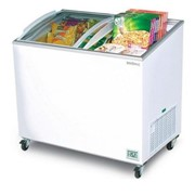Bromic Angled Glass Top 264L Display Chest Freezer - CF0300ATCG