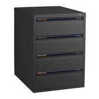 Legal Cabinet – 4 Drawers, 450/610mm deep